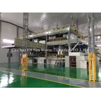 SMS PP spunbond nonwoven fabric machine SMS PP spunbond nonwoven machine pp spunbond nonwoven machine nonwoven machine nonwoven fabric making machine SMS pp spunbond nonwoven fabric production line